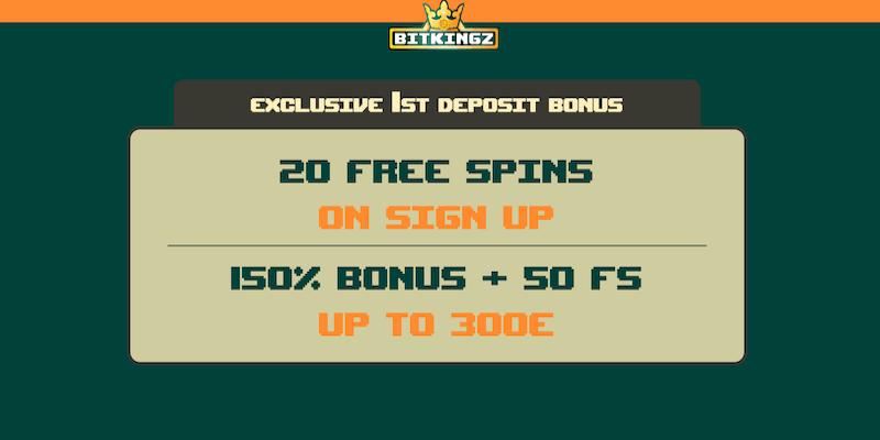Bitkingz Casino Free Spins No Deposit