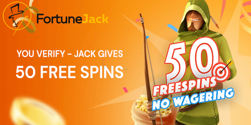 FortuneJack Casino Free Spins No Deposit