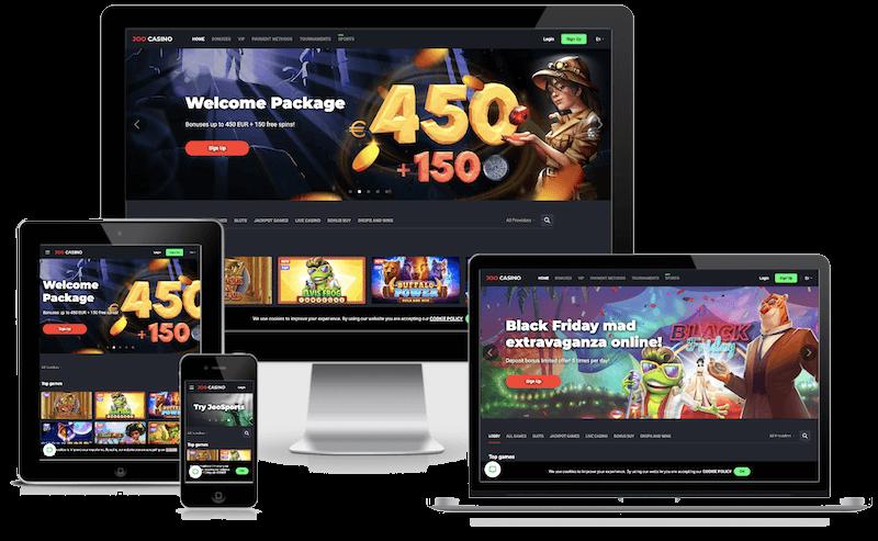 Joo Casino mobile bitcoin casino no deposit bonus