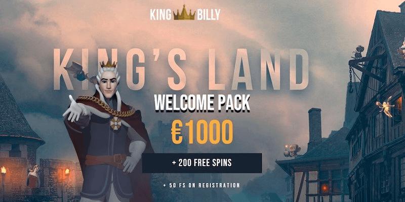 King Billy Casino Free Spins No Deposit