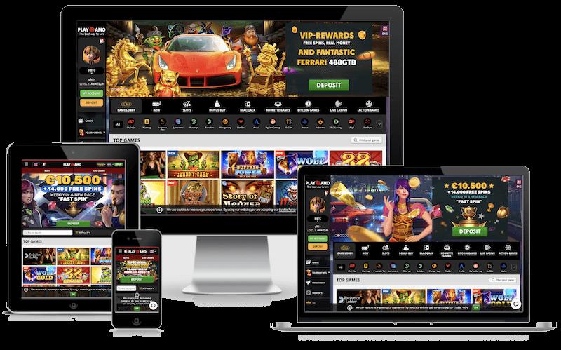 Playamo Casino mobile bitcoin casino no deposit bonus