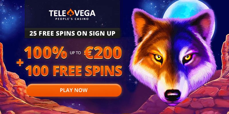 Televega Casino Free Spins No Deposit