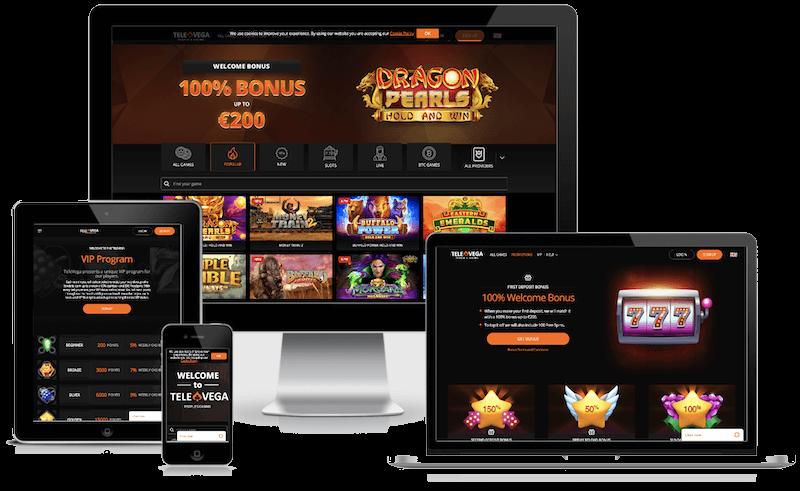 Televega Casino mobile bitcoin casino no deposit bonus