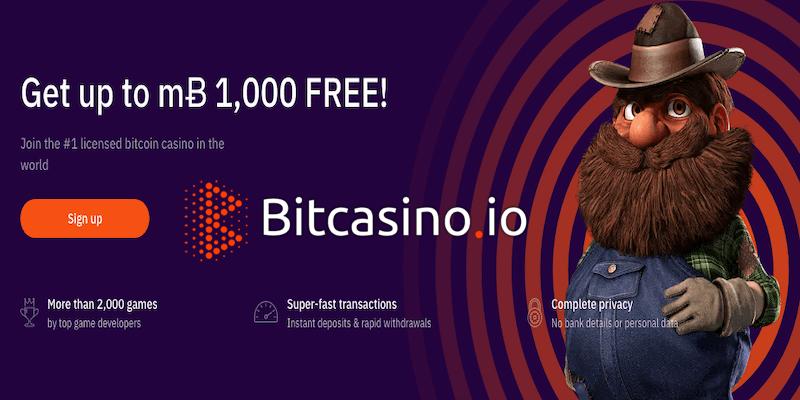 Bitcasino.io Free Spins No Deposit