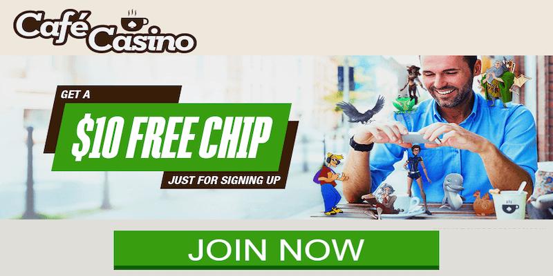 Café Casino Free Spins No Deposit