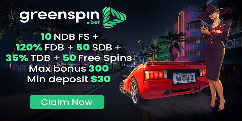 Green Spin Casino Free Spins No Deposit