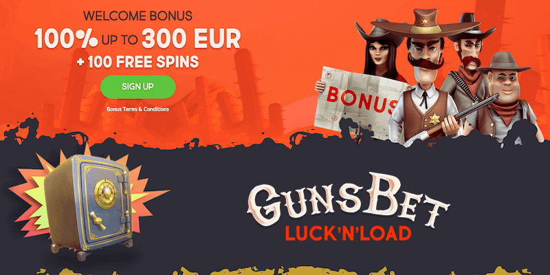 GunsBet Casino Free Spins No Deposit
