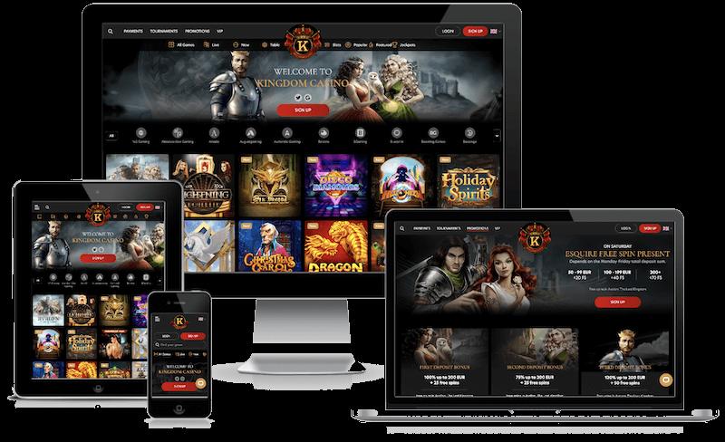 Kingdom Casino mobile bitcoin casino no deposit bonus