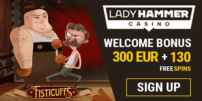 Ladyhammer Casino Free Spins No Deposit