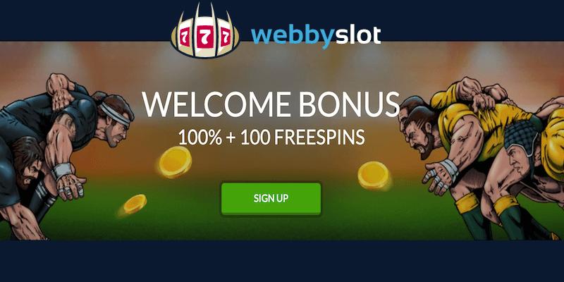 Webby Slot Casino Free Spins No Deposit