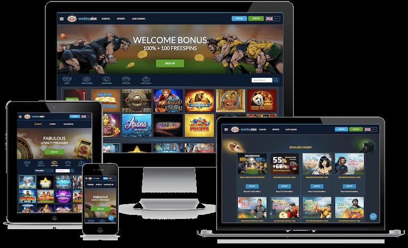 Webby Slot Casino mobile bitcoin casino no deposit bonus