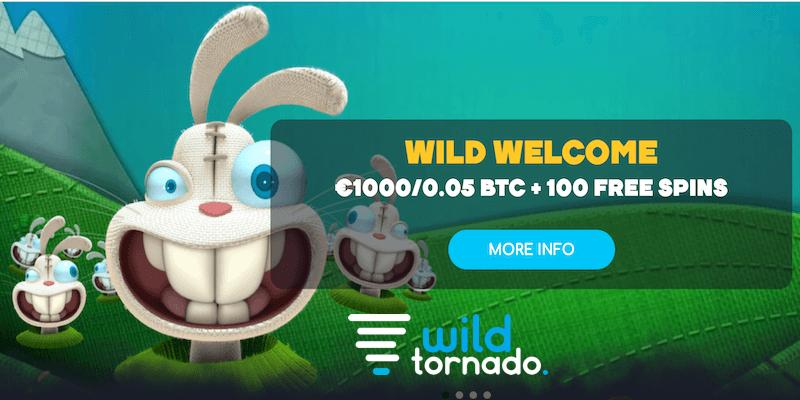 Wild Tornado Casino Free Spins No Deposit