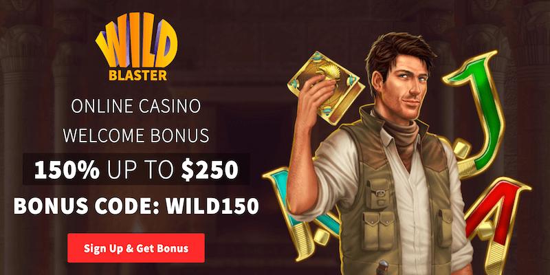 WildBlaster Casino Free Spins No Deposit