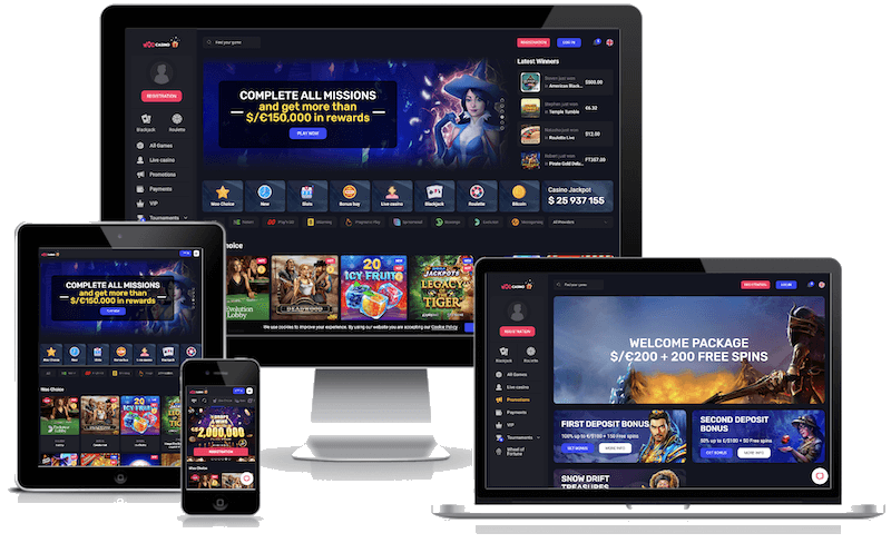Woo Casino mobile bitcoin casino no deposit bonus