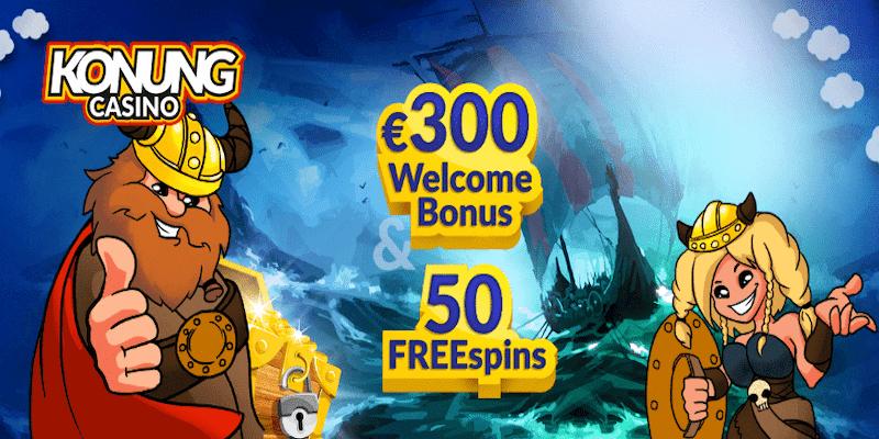 Konung Casino Free Spins No Deposit