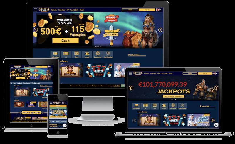 Konung Casino mobile bitcoin casino no deposit bonus 2021