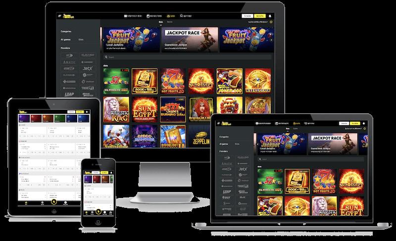 Parimatch Casino mobile bitcoin casino no deposit bonus 2021