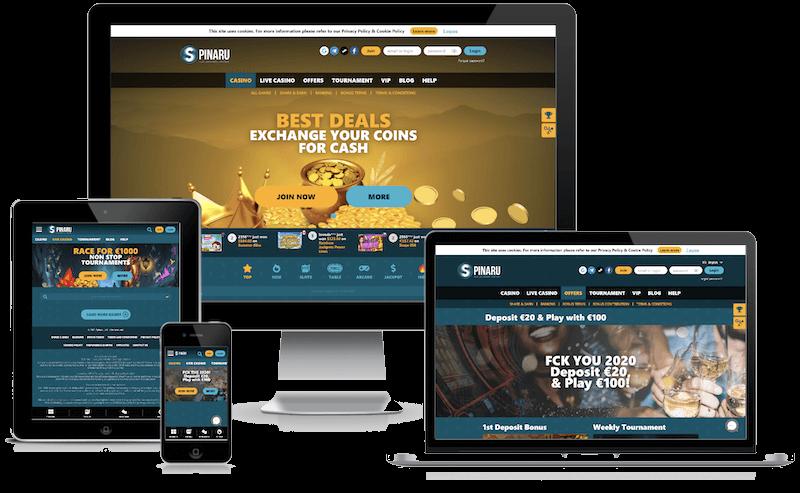 Spinaru Casino mobile bitcoin casino no deposit bonus