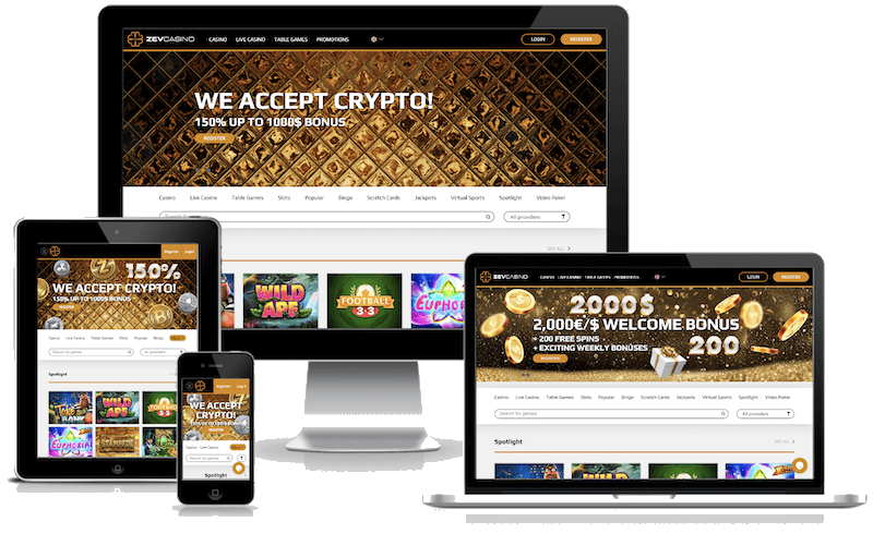 ZEV Casino mobile bitcoin casino no deposit bonus 2021