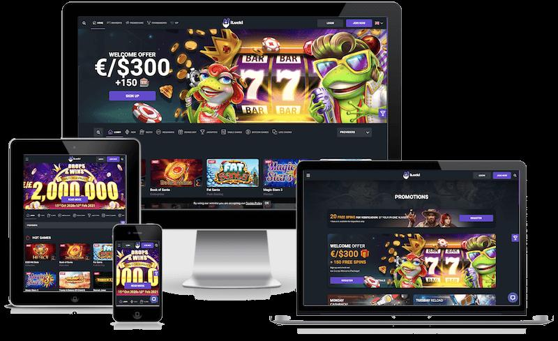 iLucki Casino mobile bitcoin casino no deposit bonus