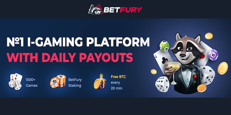 BetFury Casino Free Spins No Deposit