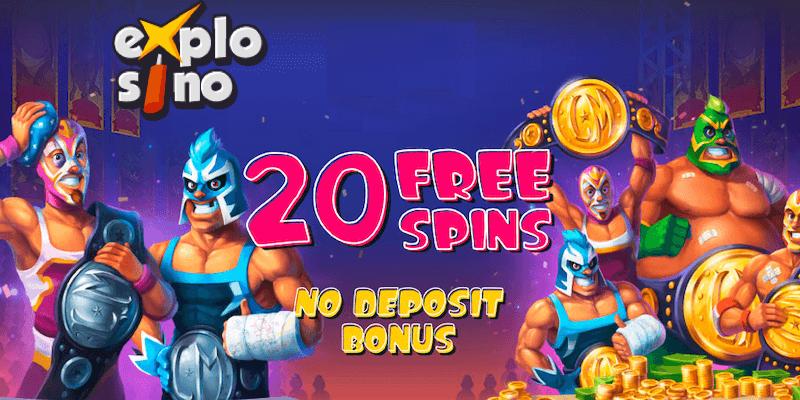 Explosino Casino Free Spins No Deposit