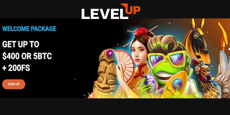 LevelUp Casino Free Spins No Deposit