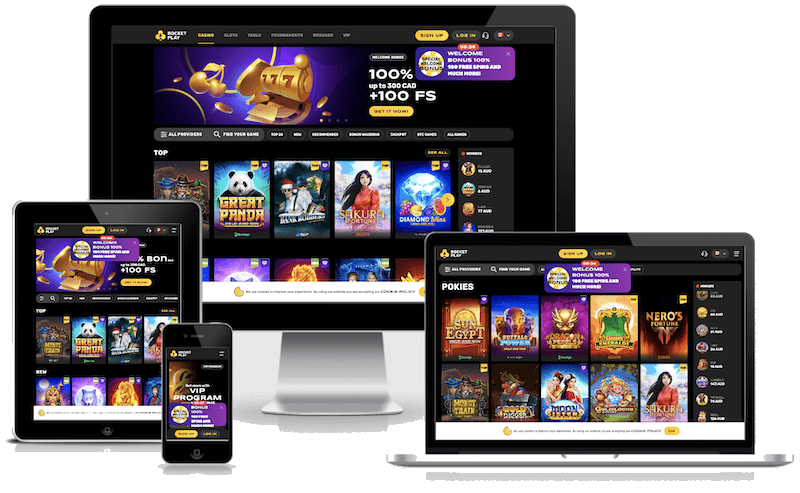 Rocketplay Bitcoin Casino mobile bitcoin casino no deposit bonus 2021
