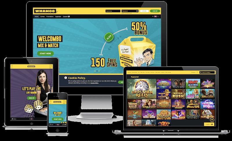 Whamoo Bitcoin Casino mobile bitcoin casino no deposit bonus 2021