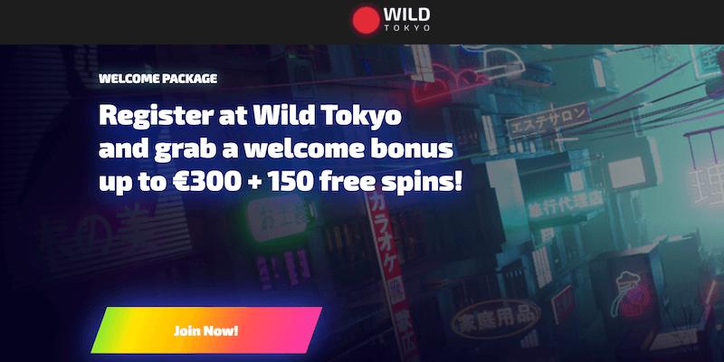 Wild Tokyo Casino Free Spins No Deposit