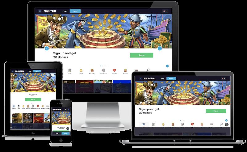 Fontan Bitcoin Casino mobile bitcoin casino no deposit bonus 2021