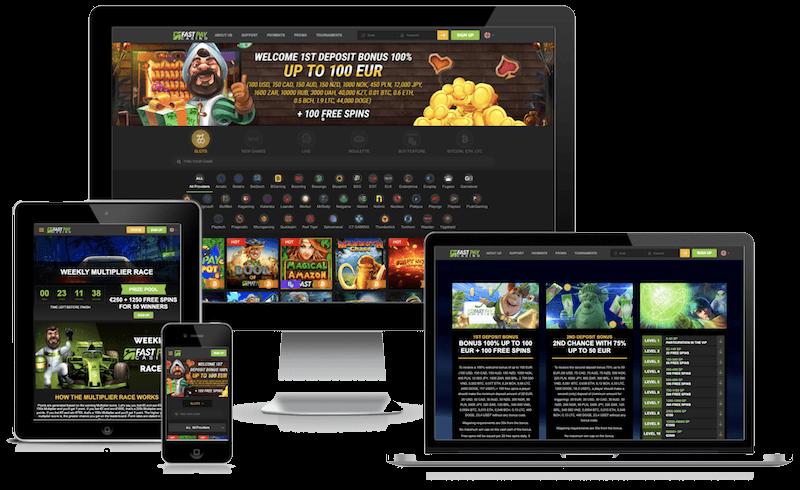 FastPay Bitcoin Casino mobile bitcoin casino no deposit bonus 2021