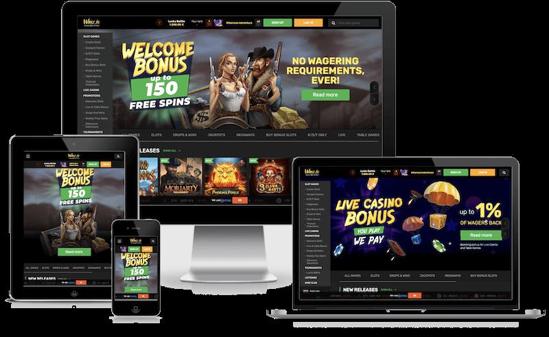 Winz Bitcoin Casino mobile bitcoin casino no deposit bonus 2021